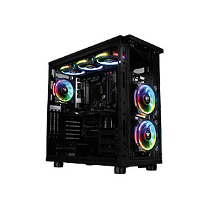 Thermaltake Riing Plus 12 RGB fan x5 with controller THERMALTAKE CL-F054-PL12SW-A