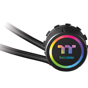 Thermaltake Floe Riing RGB 280 TT Wasserkühlung THERMALTAKE CL-W167-PL14SW-A