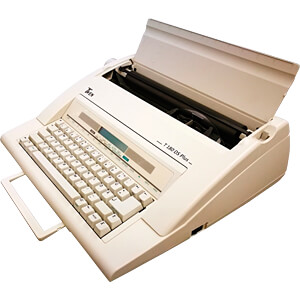 Portable Schreibmaschine TWEN 180 DS PLUS