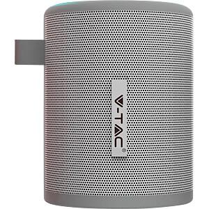 Bluetooth®-luidspreker, 5 W, draagbaar met radio, microfoon, gri V-TAC 7720