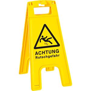 WSA RUTSCH - Warnschild Aufsteller - Achtung Rutschgefahr