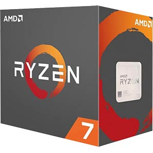 AMD AM4 Ryzen 7 1800X, 8x 3.60GHz, boxed AMD YD180XBCAEWOF