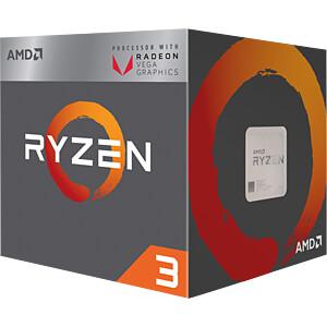 AMD AM4 Ryzen 3 2200G, 4x 3.50GHz, boxed AMD YD2200C5FBBOX