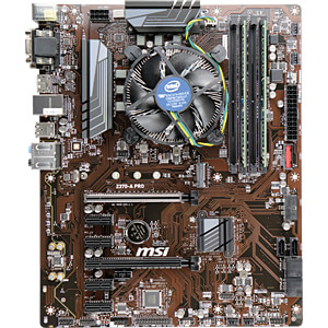 Tuning-Kit Intel Core i5-8600K, 6x 3.60GHz - 8GB MSI 101650