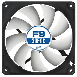 Arctic enclosure fan F9 Silent, 92 mm ARCTIC ACFAN00026A
