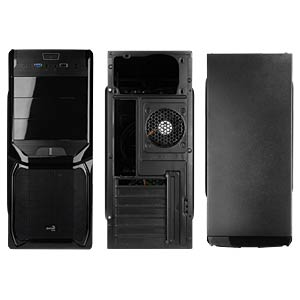 AeroCool V3X midi tower, Black Edition AERO COOL EN57417