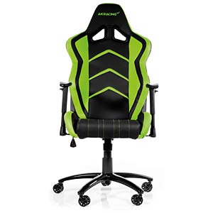 AKRACING Player gaming chair, black/green AKRACING AK-K6014-BG