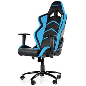 Gaming Stuhl AKRACING Player schwarz / blau AKRACING AK-K6014-BL
