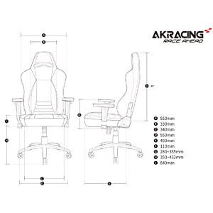 AKRacing OBSIDIAN Carbon-schwarz AKRACING AK-OBSIDIAN