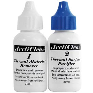 Thermal Material Remover & Surface Purifier ARCTIC SILVER ARCTICLEAN REINIGUNGSKIT
