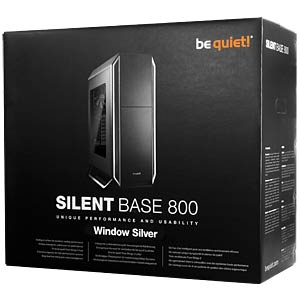 be quiet! Silent Base 800 Window Silber BEQUIET BGW03