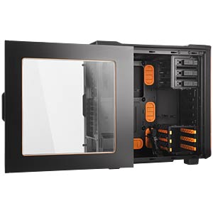be quiet! Silent Base 600 mit Fenster Orange BEQUIET BGW05