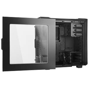 be quiet! Silent Base 600 with Window Black BEQUIET BGW06