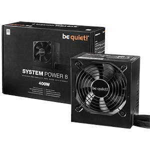 be quiet! System Power 8 400 Watt, BN240 BEQUIET BN240