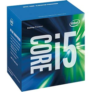 Intel Core i5-6400, 4x 2,7 GHz, boxed, 1151 INTEL BX80662I56400