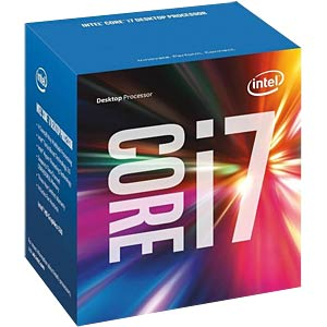 Intel Core i7-6700, 4x 3,4 GHz, boxed, 1151 INTEL BX80662I76700