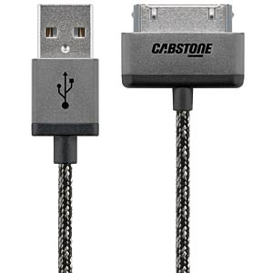 USB sync and charge cable for iPod, iPhone, iPad CABSTONE 43840