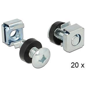 19 Rack mount kit 20 pcs. DELOCK 42420