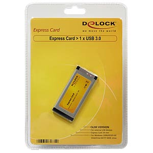Delock Express card > 1 x USB 3.0 DELOCK 61872
