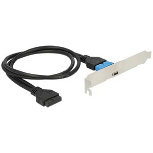 Slot Bracket with 1x USB Type-C DELOCK 84755
