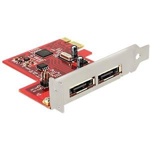 PCIe Card > 2x eSATA 6Gb/s DELOCK 89432
