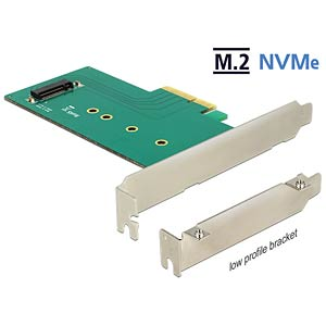PCI Express Card > 1 x int. M.2 M NVMe DELOCK 89472