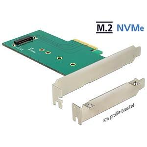 PCI Express Karte > 1 x intern M.2 M NVMe DELOCK 89472