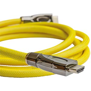 High Speed HDMI Kabel mit Ethernet, 1 m PYTHON GC-M0026