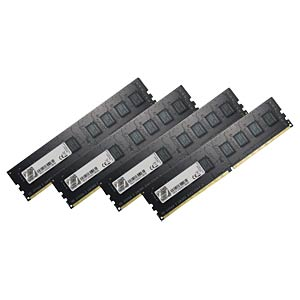 DDR4 2400 32GB CL15 GSkill NT Kit of 4 G.SKILL F4-2400C15Q-32GNT