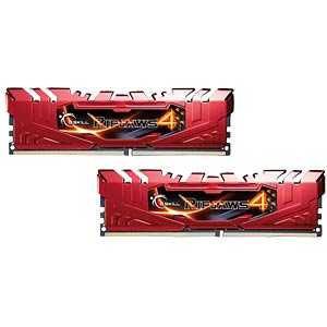 DDR4 2400 16GB CL15 GSkill Ripjaws4 2er Kit G.SKILL F4-2400C15D-16GRR