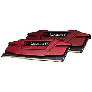 DDR4 3000 32GB CL15 GSkill RipjawsV Kit of 2 G.SKILL F4-3000C15D-32GVR