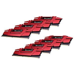 128GB DDR4 3000 CL14 GSkill RipjawsV 8er Kit G.SKILL F4-3000C14Q2-128GVRD