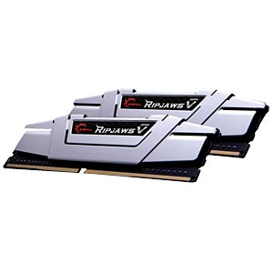 DDR4 2400 16GB CL15 GSkill RipjawsV Kit of 2 G.SKILL F4-2400C15D-16GVS