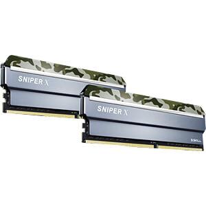 32GB DDR4 3000 CL16 GSkill Sniper X classic 2er Kit G.SKILL F4-3000C16D-32GSXFB
