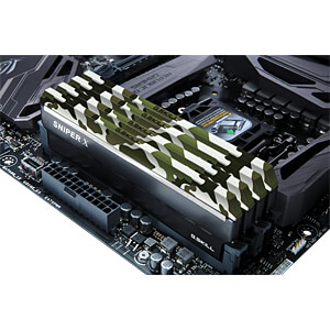 32GB DDR4 3600 CL19 GSkill Sniper X classic 4er Kit G.SKILL F4-3600C19Q-32GSXF