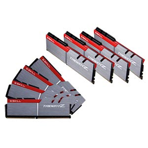 DDR4 3200 64GB CL14 GSkill TridZ Kit of 8 G.SKILL F4-3200C14Q2-64GTZ