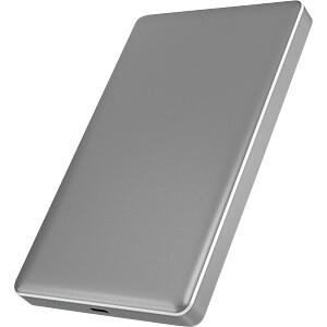 externes 2.5 SATA HDD/SSD Gehäuse, USB-C 3.1 grau ICYBOX IB-245-C31-G