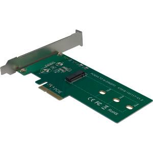 PCIe Controllerkarte 1x M2 PCIe INTER-TECH 88885376