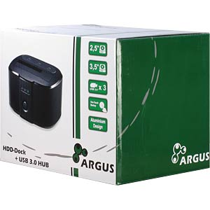 Argus GD-PD05U Dockingstation mit Backup INTER-TECH 88884066