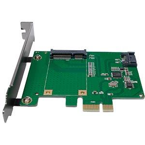 PCIe Controller Card 1x mSATA / 1x SATA LOGILINK PC0077