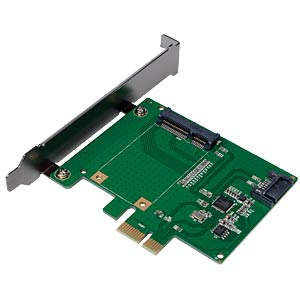 PCIe Controllerkarte 1x mSATA / 1x SATA LOGILINK PC0077