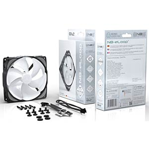 Noiseblocker NB-eLoop Fan B12-PS, 120 mm NOISEBLOCKER B12-PS