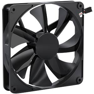 Noiseblocker BlackSilent Pro Fan PK-PS, 140 mm NOISEBLOCKER PK-PS