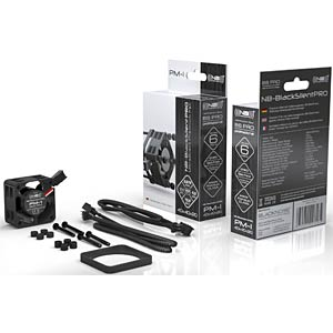 Noiseblocker BlackSilent Pro Fan PM2, 40 mm NOISEBLOCKER PM-2