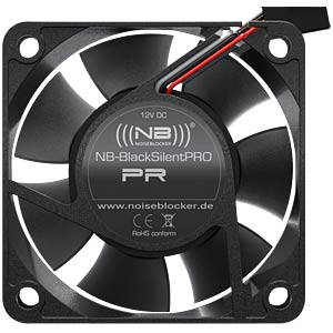 Noiseblocker BlackSilent Pro Fan PR1, 60 mm NOISEBLOCKER PR-1