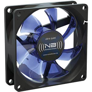 Noiseblocker BlackSilent fan X2 - 80 mm NOISEBLOCKER X-2