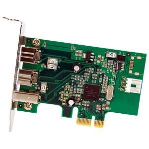 PCIe-Karte 3 Port 1394b 1394a Firewire STARTECH.COM PEX1394B3LP