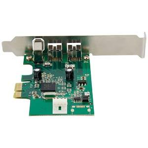 PCIe-Karte 3 Port 1394b 1394a Firewire STARTECH.COM PEX1394B3