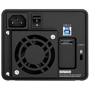 """2x 8,89cm (3,5"""") SATA an USB 3.0 / eSATA RAIDON 12229"""