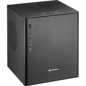 Sharkoon CA-I mini ITX, schwarz SHARKOON 4044951016136